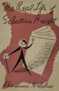 "The Real Life of Sebastian Knight, dust jacket, front, ""Nabokov"" variant"